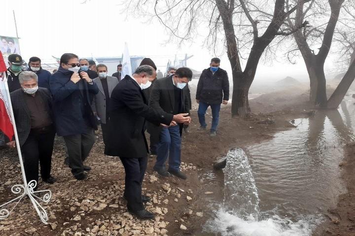 همزمان با ایام دهه فجر: افتتاح مجتمع آبرسانی روستاهای قیز قلعه و یاریم قیه خوی
